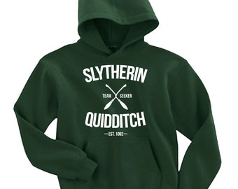 Slytherin Quidditch Team Seeker Adult Unisex Hoodie