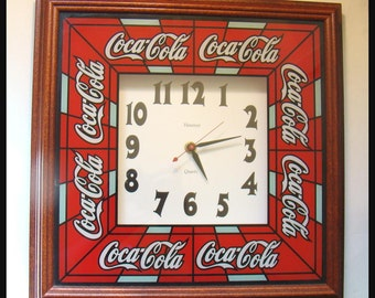 Great Battery operated Coca Cola clock