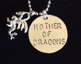 Game of Thrones Mother of Dragons necklace