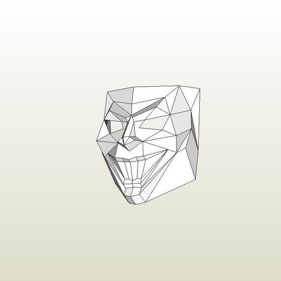 joker mask template - make your own joker mask by dimons from rabbitalchemist on