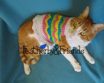 Pattern - Eggcellent Pet Sweater for Cats or Small Dogs