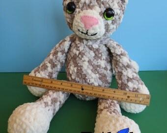 Pattern - Colby the Huggable Cat - Plush Crochet Stuffed Animal