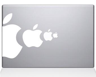 Apple Eat Apple macbook laptop decal sticker
