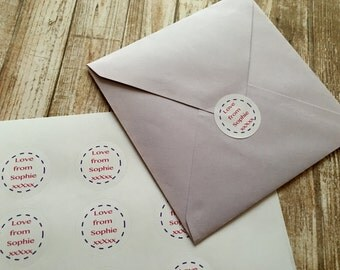 Personalised Circle Stickers
