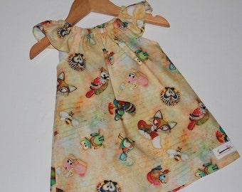 Seaside Dress Woodland Size 1