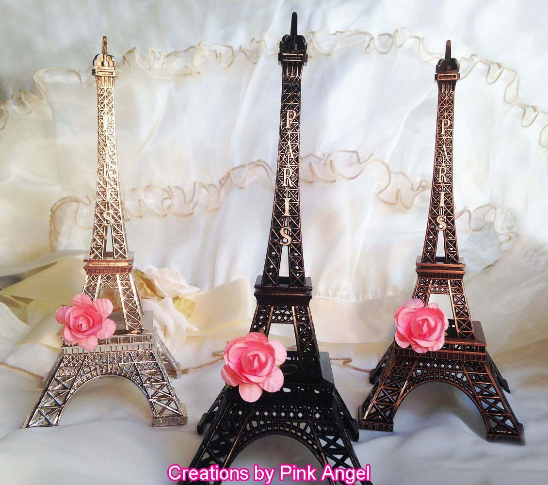 10 Metal Eiffel Tower Cake Topper Paris By CreationsByPinkAngel