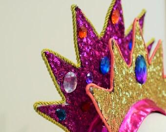 Sequinned Crown