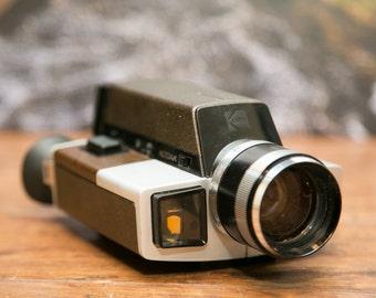 Kodak XL55 8mm Cartridge Movie Camera with Case