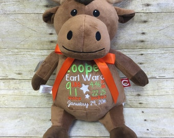 Baby Cubbies Personalized Stuffed Moose - adorable baby gift!