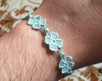 Italy lace style bracelet