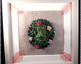 Greenman, Green Man, Greenman sculpture, Greenman Art, , wall art,