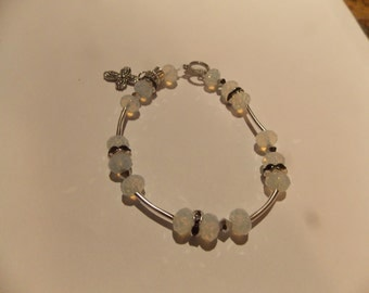 Hand made one of a kind Bracelet w/Moonstone