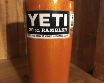 Orange Shimmer Yeti 20
