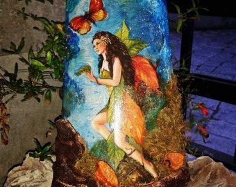 Autumn Fairy Tile