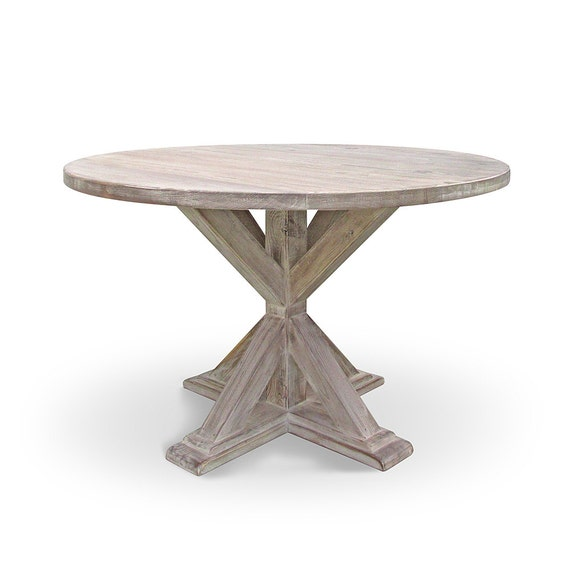 dining table kitchen table round table reclaimed wood. Black Bedroom Furniture Sets. Home Design Ideas