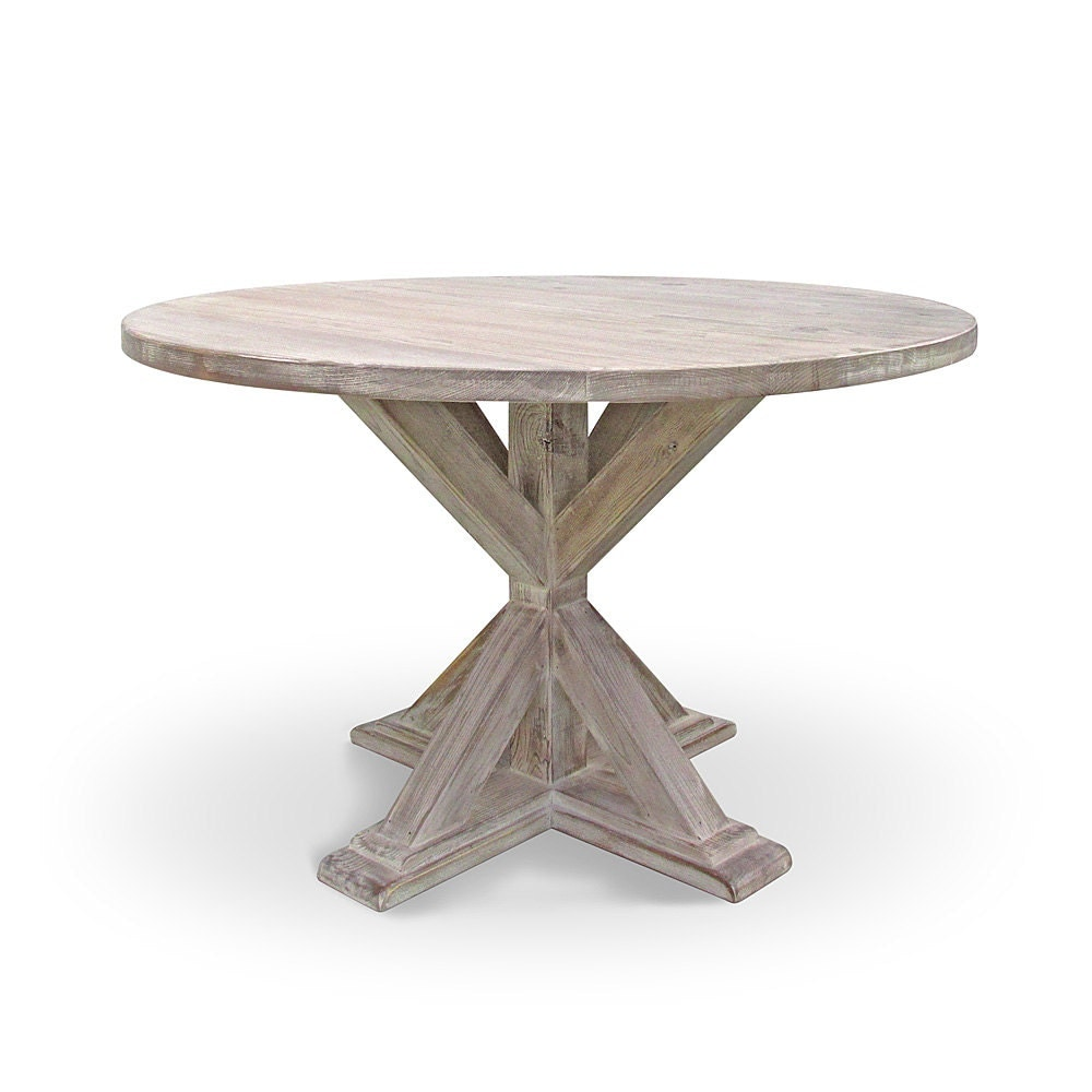 Dining Table Kitchen Table Round Table Reclaimed Wood