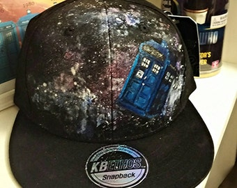 TARDIS snapback: Made to Order