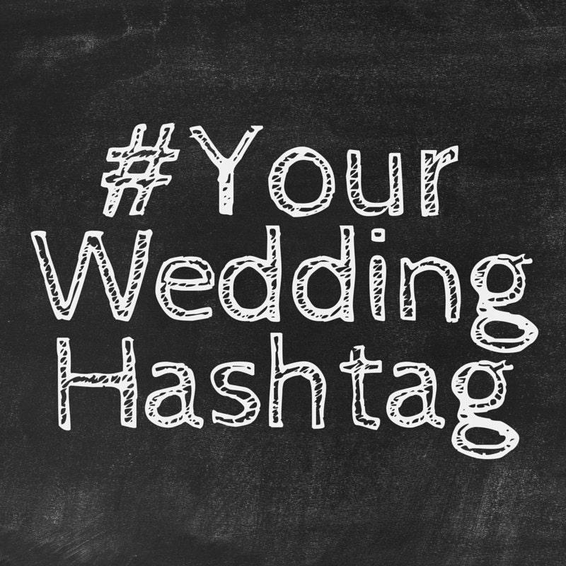 Wedding Hashtag Generator: Custom Wedding Hashtags Unique Instagram Hashtags Created For