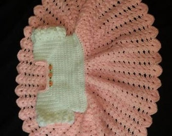 Baby Pink Ruffled Skirt Baby Dress