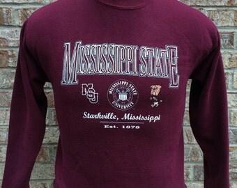 Vintage Mississippi State University Sweatshirt