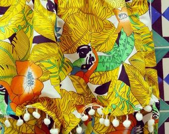 Tropical Summer Pom Pom Shorts 34-36