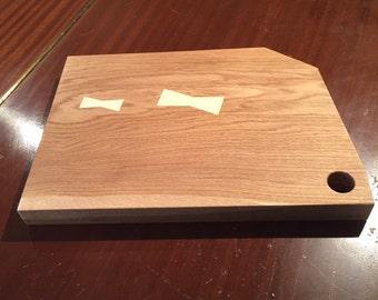 Handmade wooden serving/chopping board