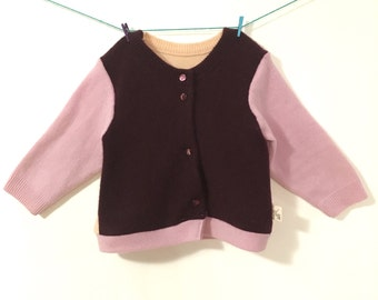 100% Cashmere Infant /Toddler Sweater, Size 6 - 12 months