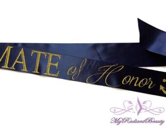 Hen Party Sash, Bachelorette Sash, Bridal Sash, Maid of Honor sash,  Mate of Honor Sash, Wedding Sash, Sash Belt, BS0035