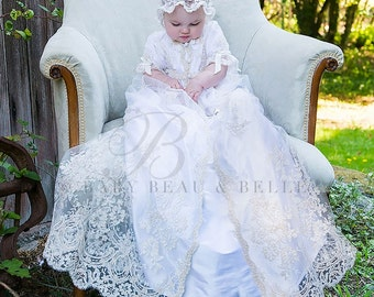 Christening Gowns, Kristina Heirloom Baptism Gown