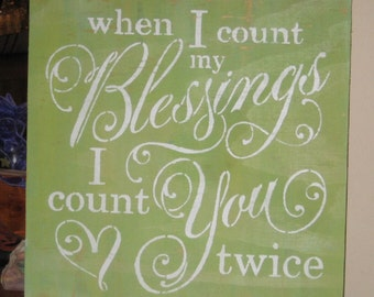 why i count my blessings It's almost time to celebrate thanksgiving which means it's time to count our blessings psalm 9:1 says: i will give thanks to the lord with my whole heart.