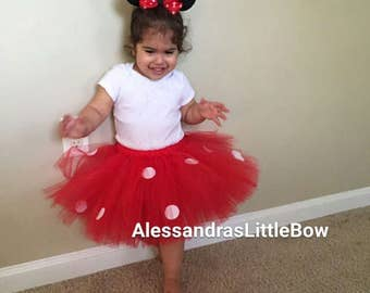 red minnie mouse tutu skirt, minnie mouse birthday outfit disney trip tutu skirt red minnie mouse tulle skirt red minnie birthday outfit