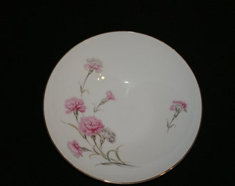 Royal Court, Carnation, 9 inch round vegetable bowl