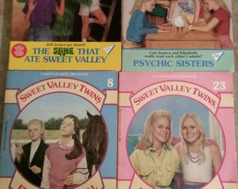 Sweet Valley Twins Series from the 90's