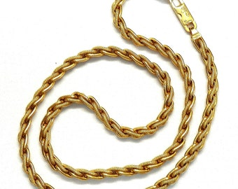 Birks 18k Yellow Gold Wheat Chain # 262238984763