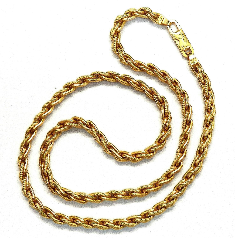 Birks 18k Yellow Gold Wheat Chain 262238984763