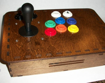 Single Player Arcade Console for Raspberry Pi MAME, XBOX, Playstation, PC