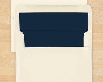 Navy Envelope Liner - Additional Options