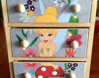 "Disney ""Tinkerbell"" mini chest"
