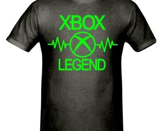 Pulse xbox legend t shirt, boys t shirt sizes 5-15 years,children's gamer t shirt
