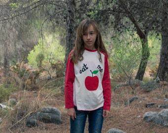 T-shirt Red Apple