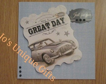 Handmade Birthday / Fathers Day card card