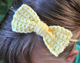 Cute Crochet Bows Pattern