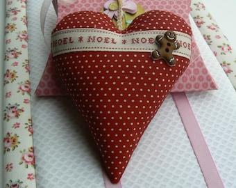 articles similaires coeur en tissu suspendre st. Black Bedroom Furniture Sets. Home Design Ideas