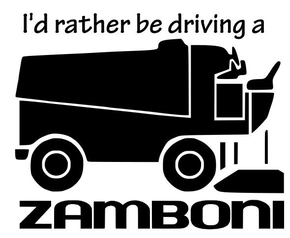 Image result for drive the zamboni