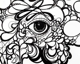 See Yaa - Artwork Print - 12x16 Matte Finish