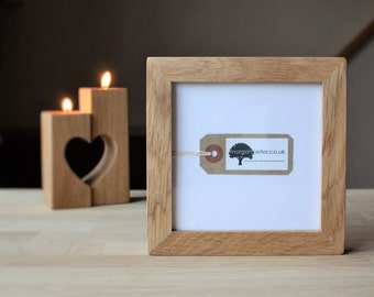 5x5 wooden photo frames 5x5 square oak picture frames