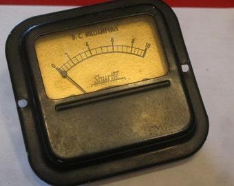 Square Milliamperes , Sound Meter , Audio Meter ,Shurite Meter