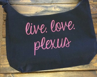 Plexus Cotton Canvas Sling Bag