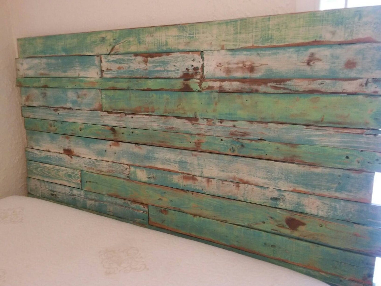 Reclaimed Wood Headboard Pallet Wood By Reclaimedpallettrend