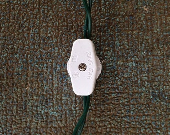 Inline Wheel Switch For Low Voltage Mini Light Strings. (Lighted Bottles)